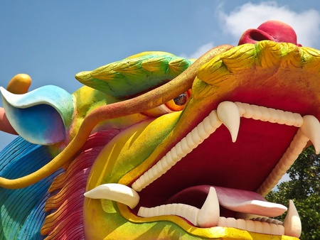 The  dragon  in  Thailand photo