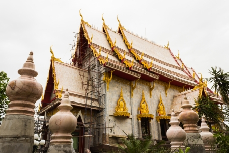 Payap temple in central of korat,Thailand photo