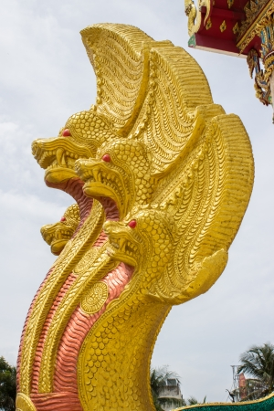 dragon in wat sakea,Thailand photo