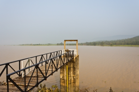 Huay yang dam in countryside of Thailand photo