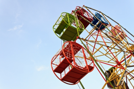 Ferris wheel in the festival Stok Fotoğraf - 17127060
