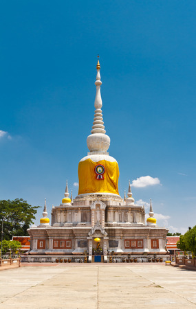 sacred source: Phrathat Nadun, northeast of Thailand
