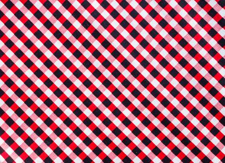 red black white: red black white checked pattern