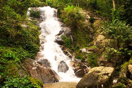 chiangrai: Huaykeaw waterfall in chiangrai, north of Thailand
