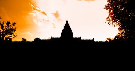 buriram: phanomrung historical park,buriram thailand Stock Photo