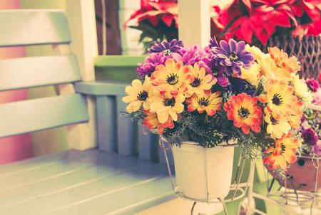 daisy pink: gerbera flower,colorful decoration flower Stock Photo