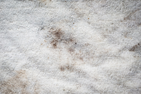 stof textuur: closeup dirty white fabric texture