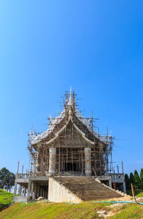 chiangrai: huayplakang temple at chiangrai,north of thailand