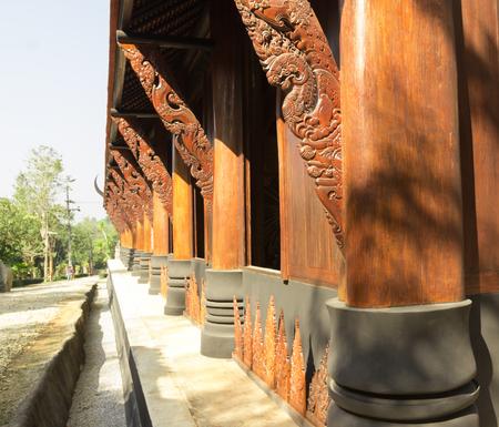 chiangrai: black house at chiangrai,north of Thailand