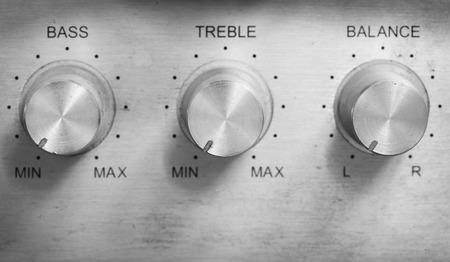 Nahaufnahme Steuertaste auf Ton-Musik-Player