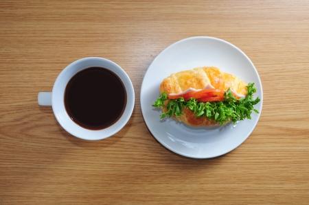 Frühstück Standard-Bild