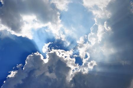 Gottes Licht Standard-Bild