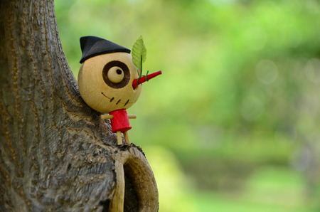 Pinocchio  Standard-Bild
