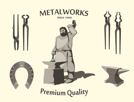 blacksmith: Vintage Blacksmith Set
