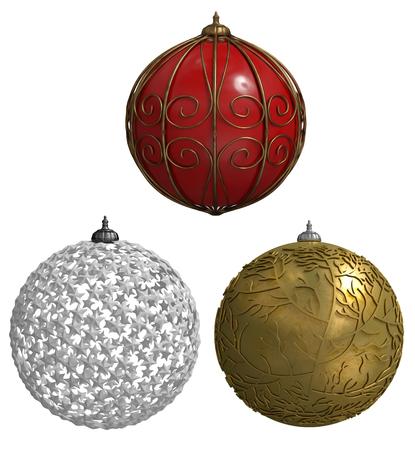 christmas balls Фото со стока