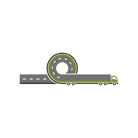 Vector logistic logo