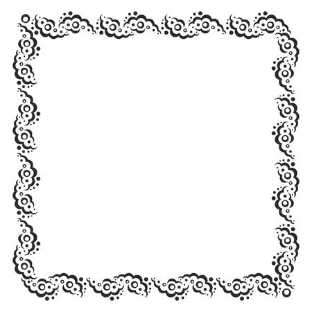 Monochrome frame Ilustrace