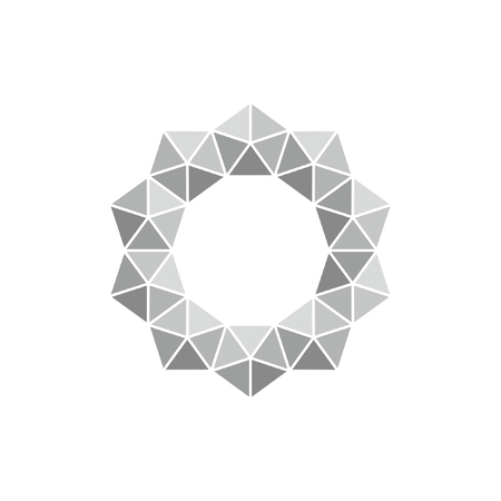 Monochrome vector pattern