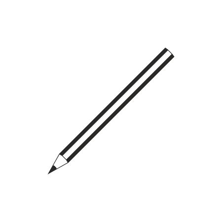 Monochrome pencil icon