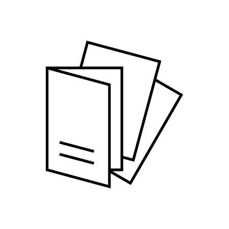 Monochrome vector cards or invitations icon