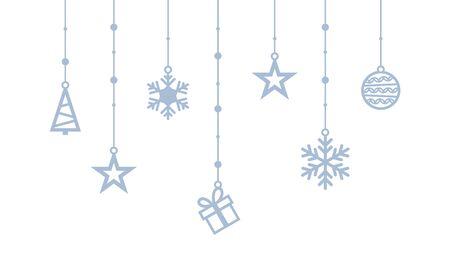 Set of new year symbols