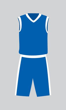 Vector sports basketball club uniform