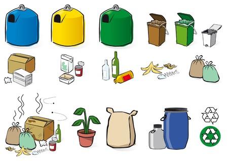 recyclage Vecteurs