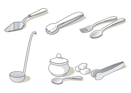tongs: cookware