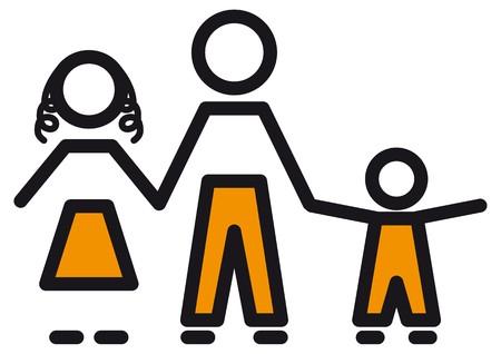 harmony united: family Illustration