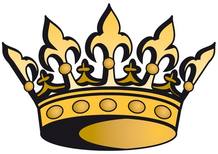 corona real: corona real  Vectores
