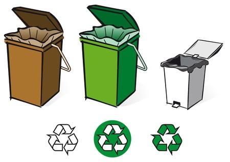 reciclar basura: reciclaje