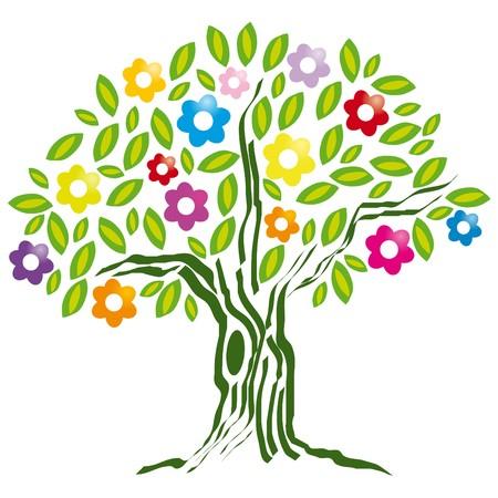 страсть: цветущее дерево