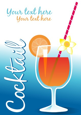 Drinks menu Stock Vector - 7694366