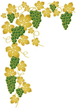 druiven groen