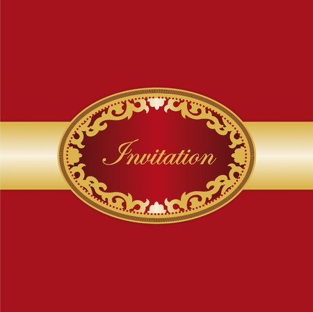 invitation card Stock Vector - 7734518