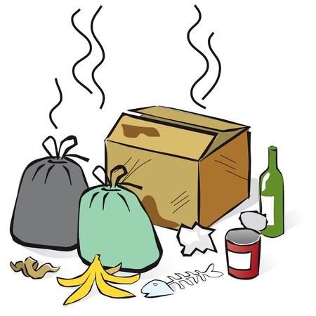 garbage Stock fotó - 7739553