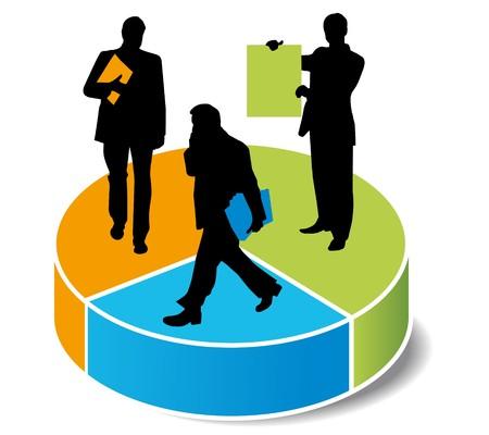 contabilidad financiera cuentas: gr�ficas de las estad�sticas