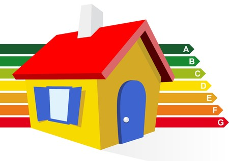 sustainable home Vector