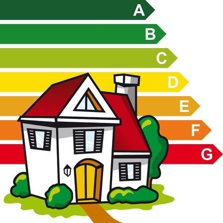 ecology home Vector