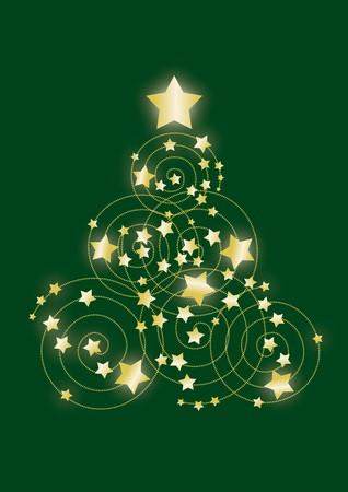 Green Christmas tree Stock Photo - 7783280
