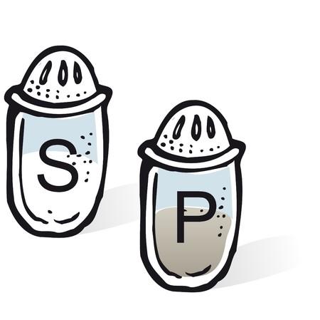salt pepper: salt & pepper