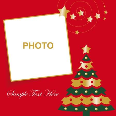 christmas photo frame: Christmas card