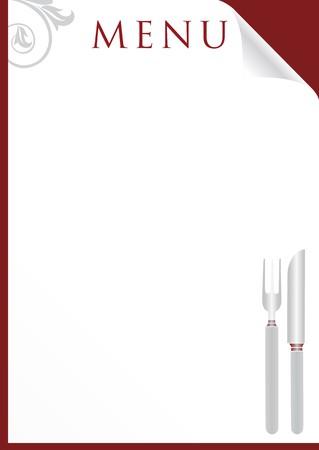 lounge bar: menu card