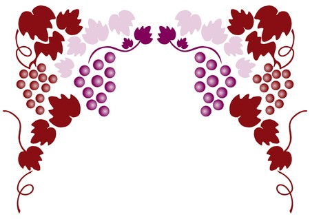 grapes Stock Vector - 7821676