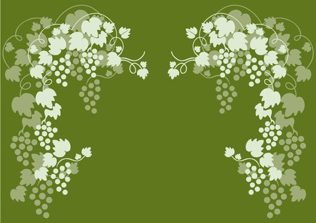 green grapes Stock Vector - 7821689