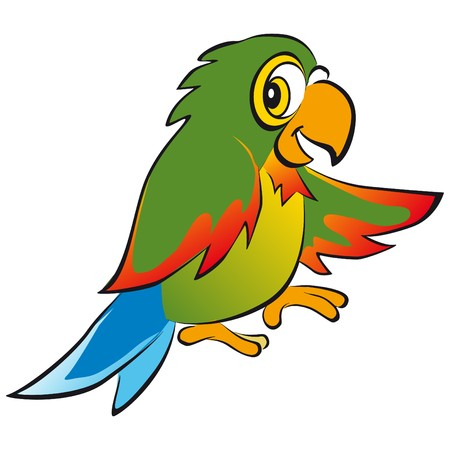 parrot colors Stock Vector - 7821736