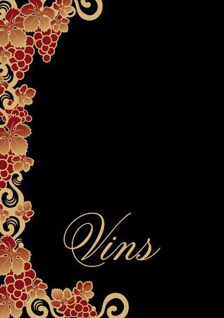 wine list Stock Vector - 7879018