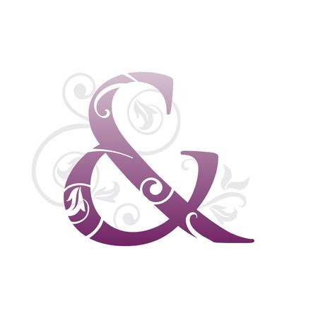 symbol and violet