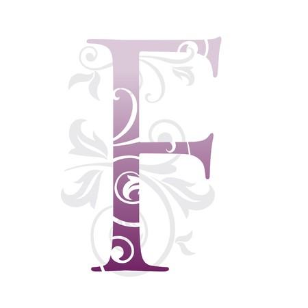 letter f Stock Vector - 7923896