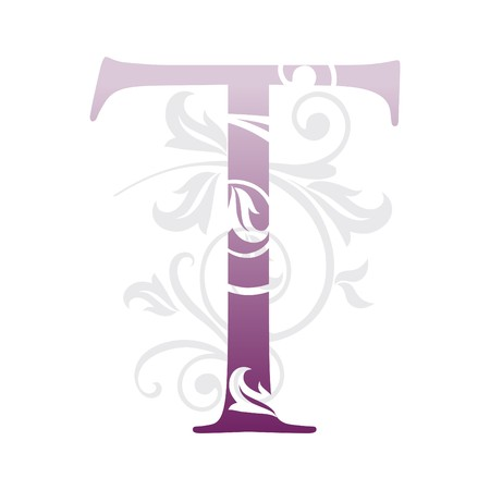 letter t, typography